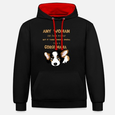It Takes Someone Special To Be A Corgi Mama - Unisex kontrastihuppari