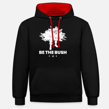 Rolig Video Spel Var Bush Rolig Gaming Camper För Video Spelare - Kontrast hoodie unisex