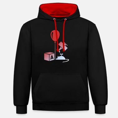 Toy toy - Unisex Contrast Hoodie