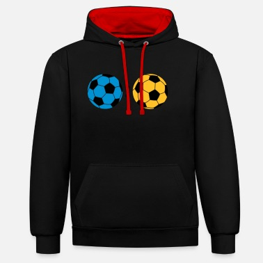 Association ball : ball - Unisex Contrast Hoodie