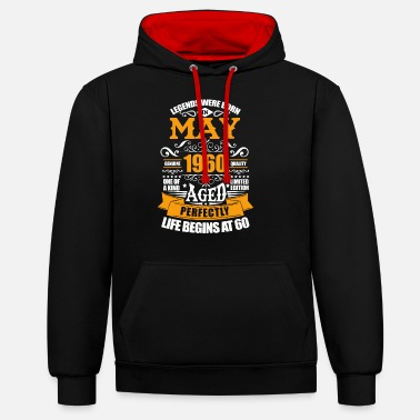 May 1960 May 1960 - Unisex Contrast Hoodie