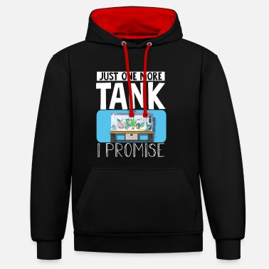 Reef Just One More Tank I Promise - Unisex Contrast Hoodie