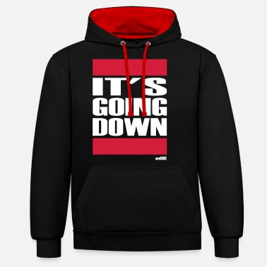 Rap ITS GOING DOWN - Unisex Contrast Hoodie