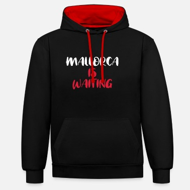 Majorca MAJORCA IS WAITING - Unisex Contrast Hoodie