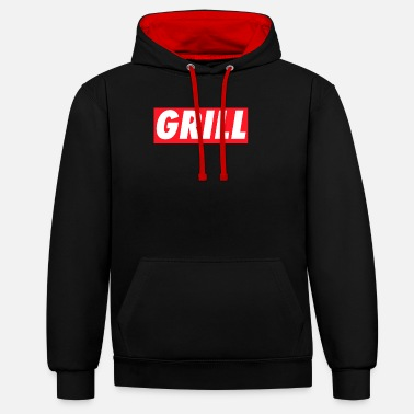 Grill Grill #Grill - Unisex Contrast Hoodie