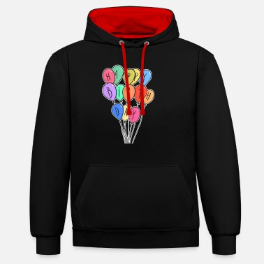 Birthday Kids Kids birthday shirt - Unisex Contrast Hoodie
