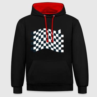 dragster coureur voiture automobile rennwagen5 automobile - Sweat-shirt contraste