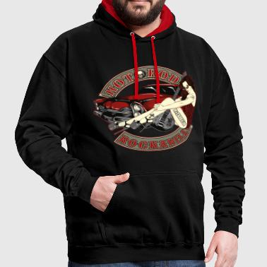 Babe Hot Rod - Sweat-shirt contraste