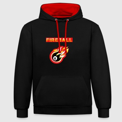 Fireball - Sweat-shirt contraste