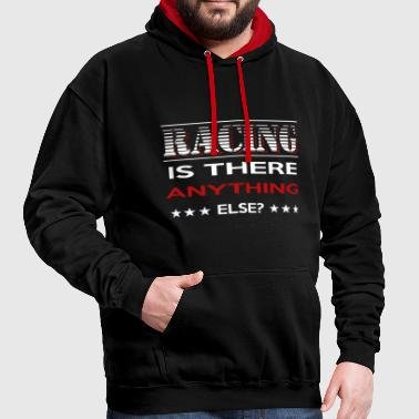 Funny Motorsport Racing T-Shirt English - Contrast Colour Hoodie