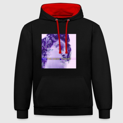 Aesthetic one - Contrast Colour Hoodie