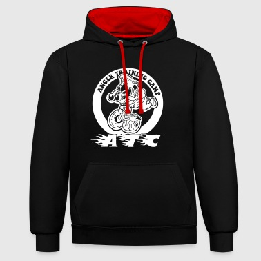 anger traning camp - Contrast Colour Hoodie