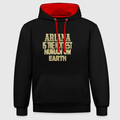 Ariana - Contrast Colour Hoodie