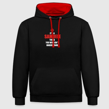 Gift it sa thing birthday understand SAMUELE - Contrast Colour Hoodie