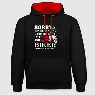 Biker Shirt - Sweat-shirt contraste