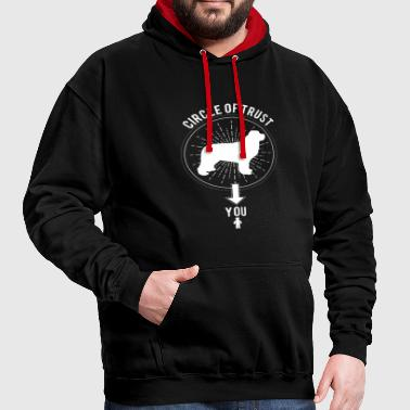Newfoundland Dog Gift T-Shirt - Contrast Colour Hoodie