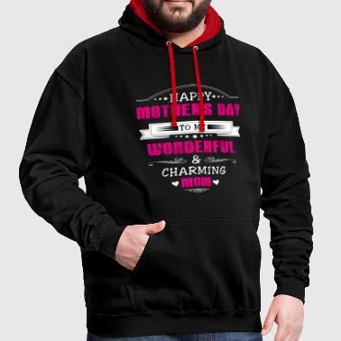 Mother's Day! Mum! Mother! Mum! Present! - Contrast Colour Hoodie