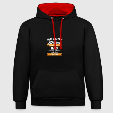 Dad - Father - Gift - Father's Day - Dad - Contrast Colour Hoodie