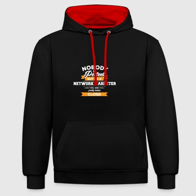 Network marketing gift MLM structure - Contrast Colour Hoodie