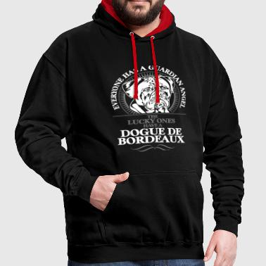 GUARDIAN ANGEL DOGUE DE BORDEAUX - Contrast Colour Hoodie