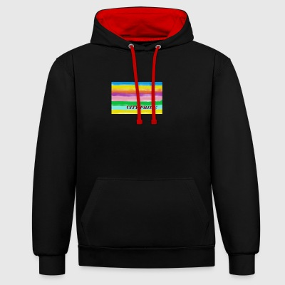 City Pride - Contrast Colour Hoodie