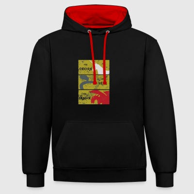 Memories of Idhún - Contrast Colour Hoodie