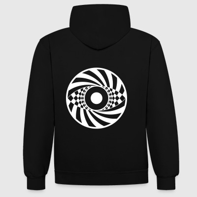 Tekno 23 Corp Circle - Contrast hoodie