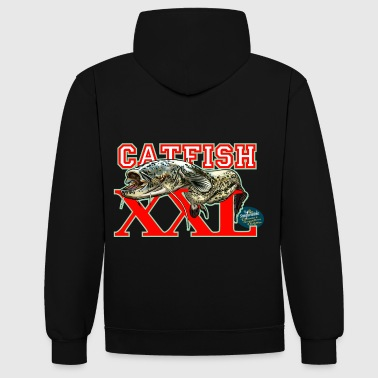 catfish XXL - Contrast Colour Hoodie