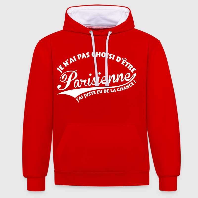 Parisienne Chanceuse - Sweat-shirt contraste