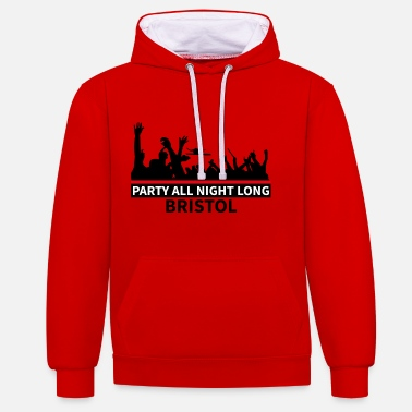Bristol BRISTOL - Party All Night Long - Sweat-shirt contraste
