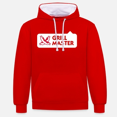 Grillmaster Grillmaster - Contrast Colour Hoodie