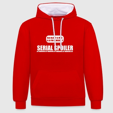 Serial Spoiler - Sweat-shirt contraste