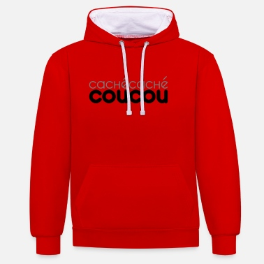 Cuckoo Hidden Cuckoo - Customizable - Contrast Colour Hoodie