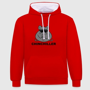 chinchiller - Contrast hoodie