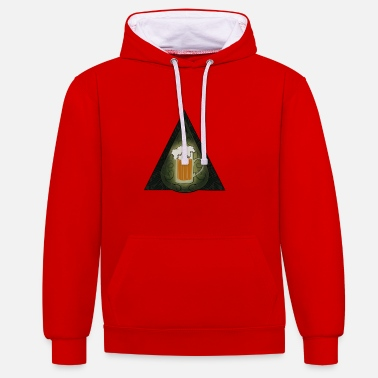 Society SECRET SOCIETY OF BEER TURGOT - Contrast Colour Hoodie