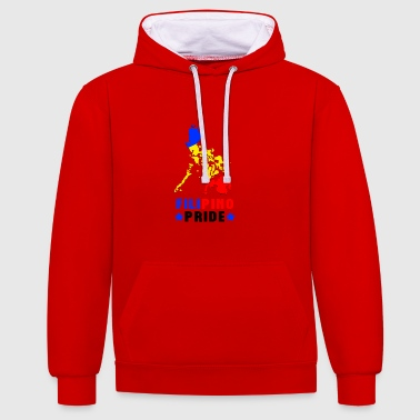 Philippines Pinoy Pinay Philippines Asia Pride - Contrast Colour Hoodie