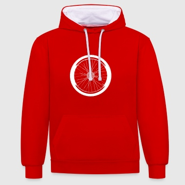 Roue roue - Sweat-shirt contraste