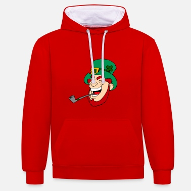 Lucky Charm lucky charm - Contrast Colour Hoodie