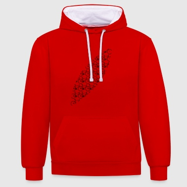 Bicycle bicycles - Contrast Colour Hoodie