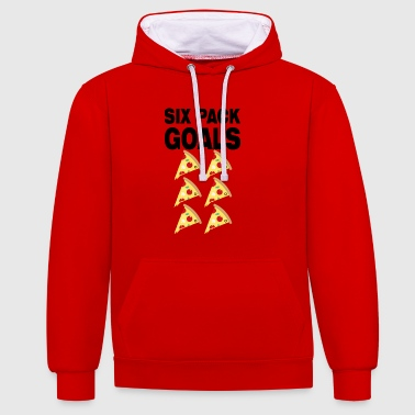 cadeau de gym fitness - Sweat-shirt contraste