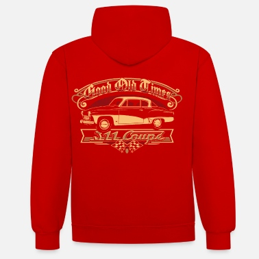 Wartburg 311 Coupe - Unisex contrast hoodie
