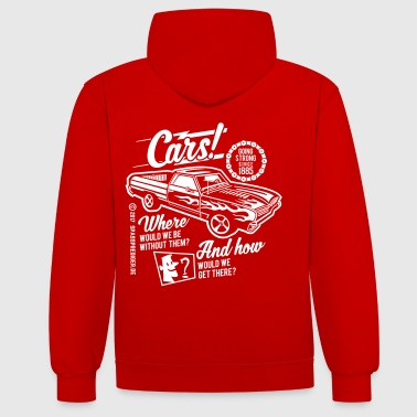 Cars - Sweat-shirt contraste