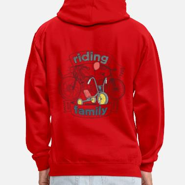 Riding family - Sweat-shirt contraste