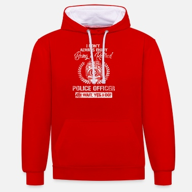 Police Officer police officer - Contrast Colour Hoodie
