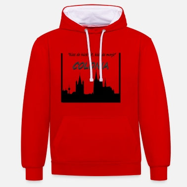 Cologne - Do not miss ... Gifts Colonia - Unisex Contrast Hoodie