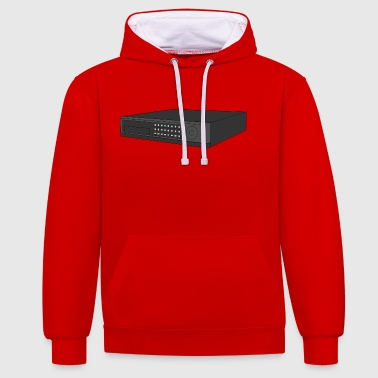 Digital Video Recorder - Contrast Colour Hoodie