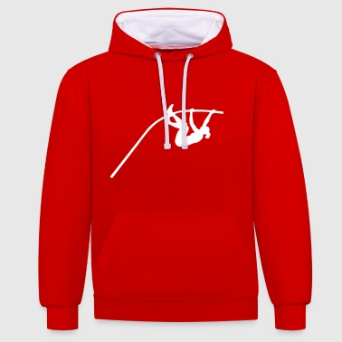 Pole Vault - woman - Contrast Colour Hoodie