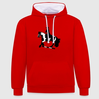 Tinker galop I Stange - Sweat-shirt contraste