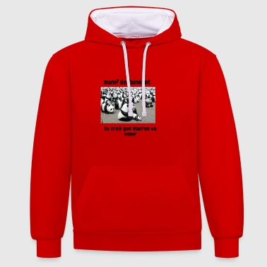 manif - Sweat-shirt contraste