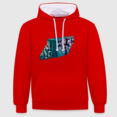 futur mur - Sweat-shirt contraste